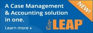 LEAP - a case management and accounting solution for small firms